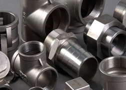 Stainless Steel 347 Forged Threaded Fittings